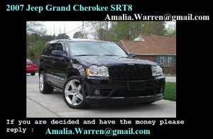 Jeep Grand Cherokee 2007, Automatic, 3 litres