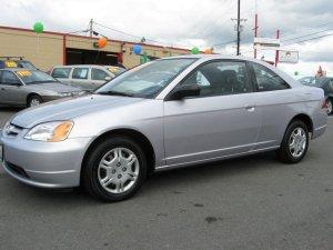Honda Civic 2002, Automatic, 2 litres